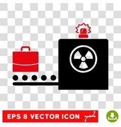 Baggage Screening Eps Icon vector image