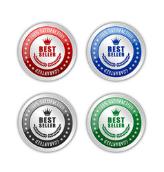 Best seller badges vector