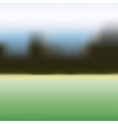 Blurred nature landscape design vector