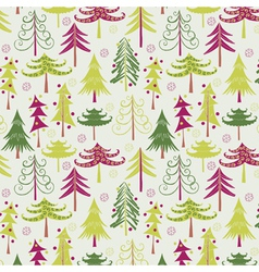 Christmas tree geometric vector