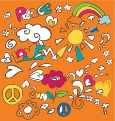doodles vector image vector image