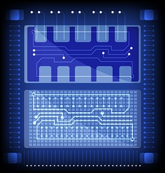 Electronic technology vector image