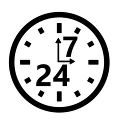 Schedule of the organization of the store clock vector