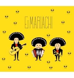 El Mariachi vector image vector image