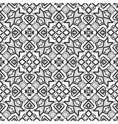 Retro ornamental seamless pattern vector image