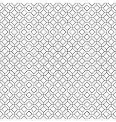 Simple seamless diamond pattern vector image