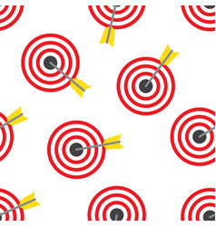 archery seamless pattern vector image