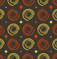Background colored circles stars vector