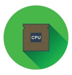 CPU icon vector image