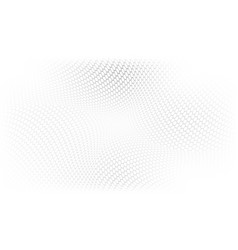 gray and white abstract halftone perspective vector image
