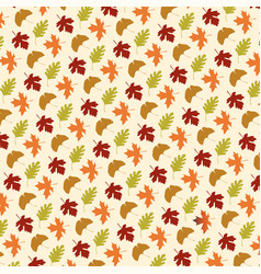 Leaf pattern on tan vector