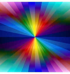 Rainbow colorful kaleidoscope background vector
