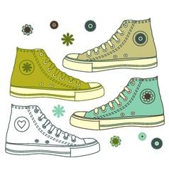 Shoe s vector