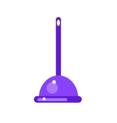 Toilet plunger icon vector image