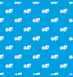 drilling machine pattern seamless blue vector image vector image