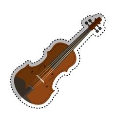 violin music instrument vector image vector image