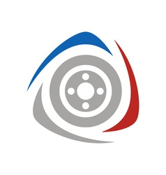 Racing-Logo-380x400 vector image vector image