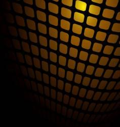 warm orange mesh vector image