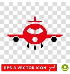 Cargo Aircraft Eps Icon vector image