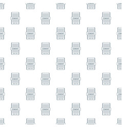 Cement pattern seamless vector
