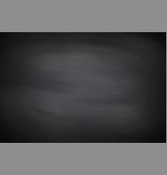 chalkboard texture black empty chalkboard vector image
