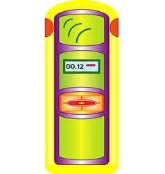 Geiger counter vector