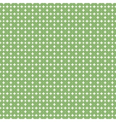 Green flower pattern background stock vector