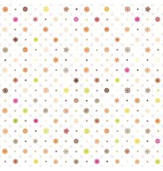 pattern seamless wrapping wallpaper snowfall vector image