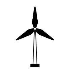 Wind energy isolated icon vector