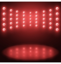 stage Lighting Background vector image