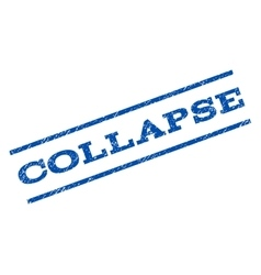 Collapse Watermark Stamp vector