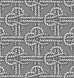 Crossed sailor knot vector image