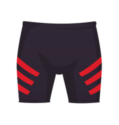 Fitness sport pants vector
