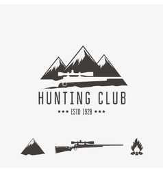 Hunt club vector image