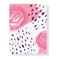 memphis minimal design decoration 80s 90s style vector image