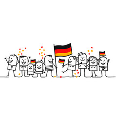 National german day vector