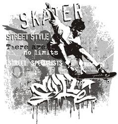Skater no limit vector