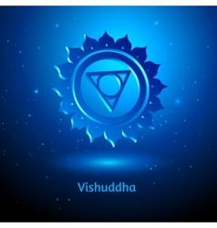Vishuddha chakra vector