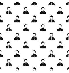 Businessman pattern vector