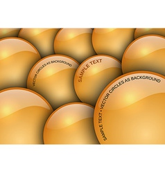 background circles vector image