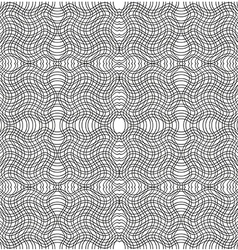 black and white stripe pattern swatches vector image