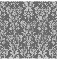 distressed floral pattern vector image