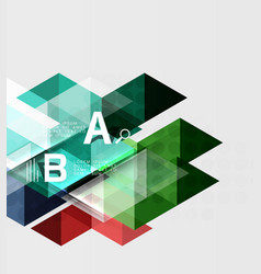 Abstract geometric concept vector