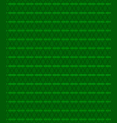 abstract lines pattern green background vector image