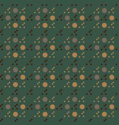 Circular uneven seamless pattern vector
