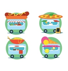 Fast food series vector