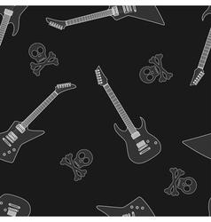 guitar seamless 6 vector image
