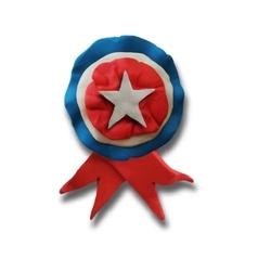 Ribbon badge vector image