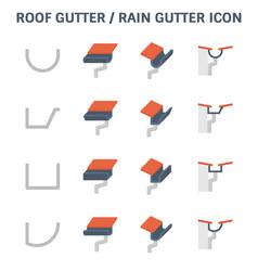 Rogutter icon vector