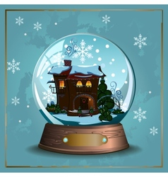 Snow Ball vector image vector image